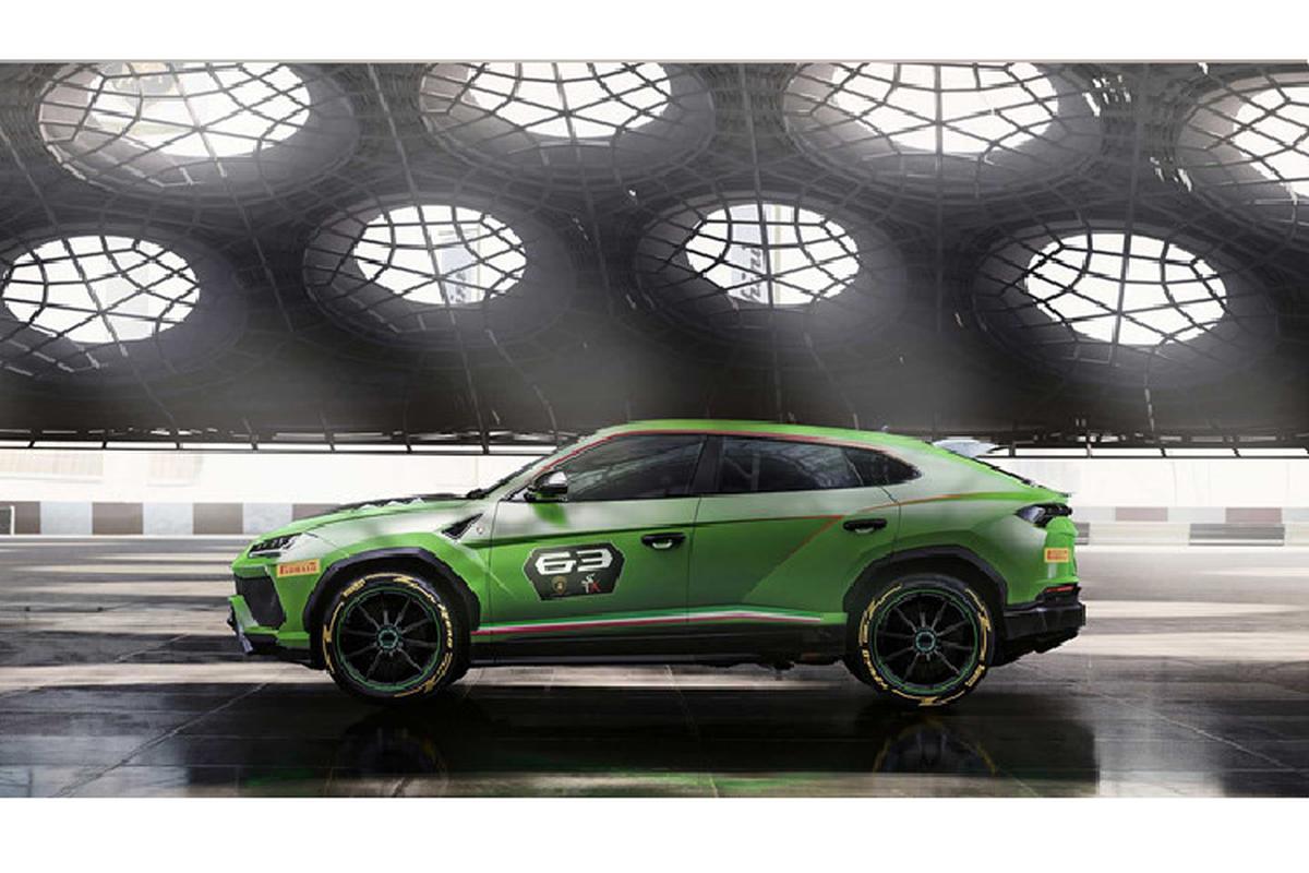 Sieu SUV Lamborghini Urus ban xe dua lo dien-Hinh-3