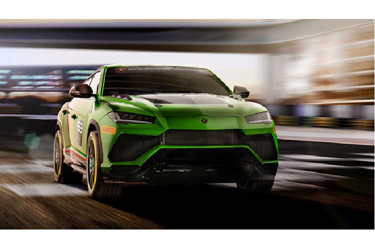 Sieu SUV Lamborghini Urus ban xe dua lo dien-Hinh-5