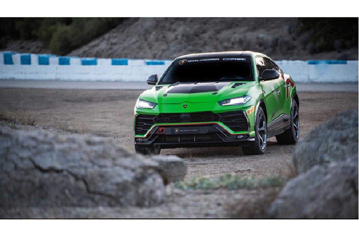 Sieu SUV Lamborghini Urus ban xe dua lo dien-Hinh-6