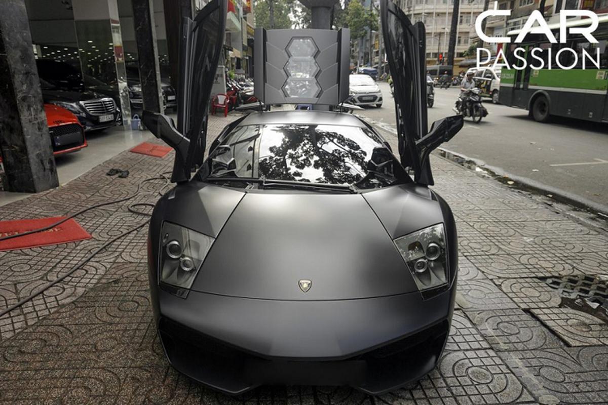 "Ngam ""bo gia"" Lamborghini Murcielago SV tien ty o Sai Gon-Hinh-2"