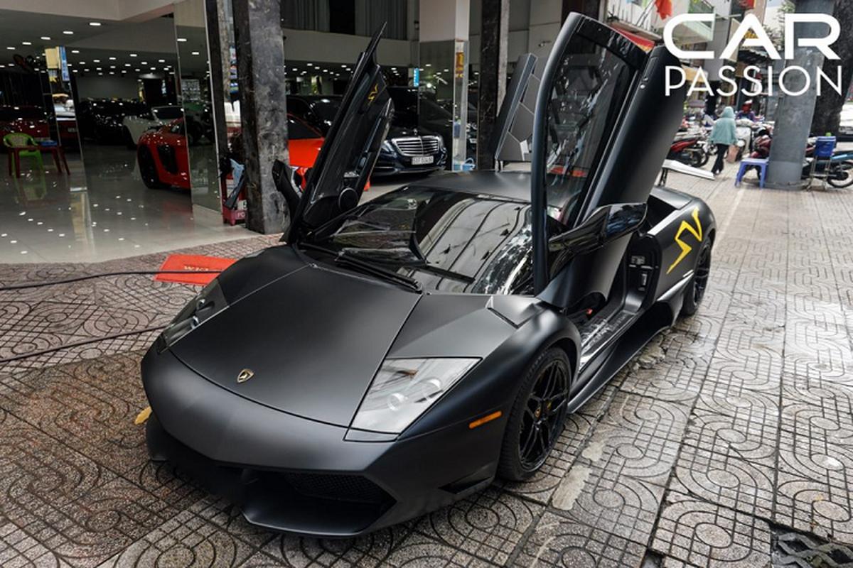 "Ngam ""bo gia"" Lamborghini Murcielago SV tien ty o Sai Gon"