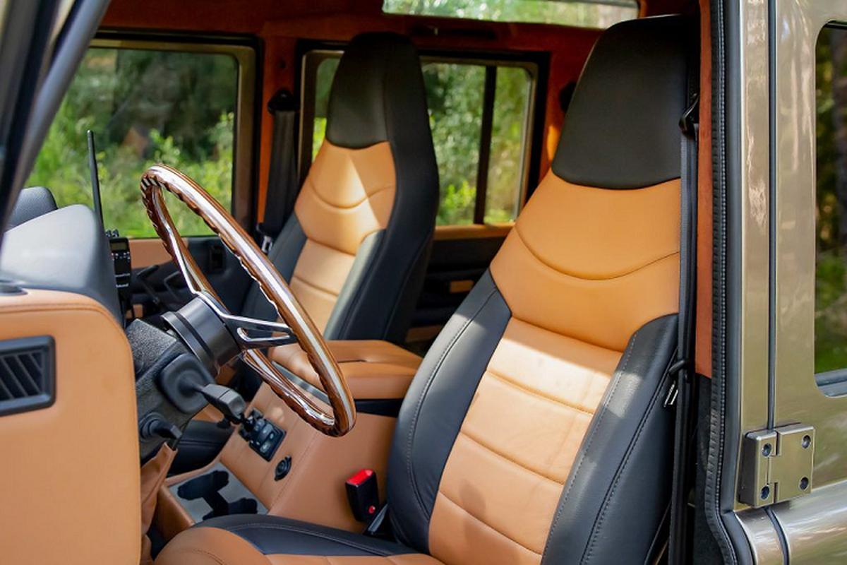Ngam xe Land Rover Defender ECD do khung cho dan phuot-Hinh-5
