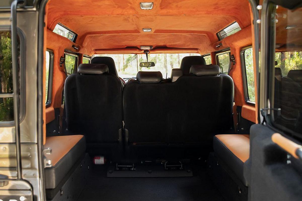 Ngam xe Land Rover Defender ECD do khung cho dan phuot-Hinh-7