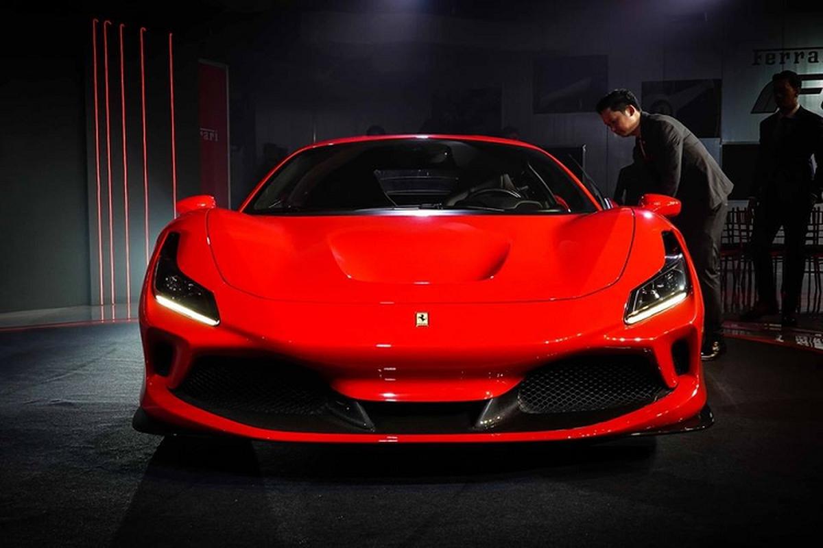 Ferrari F8 Tributo chinh hang tai Thai Lan tu 19,2 ty dong