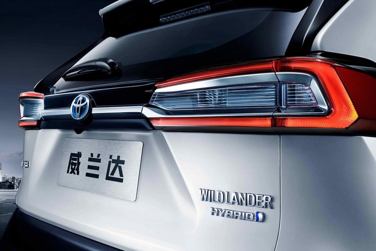 Toyota Wildlander 2020 - doi thu moi cua Honda CR-V lo dien-Hinh-5