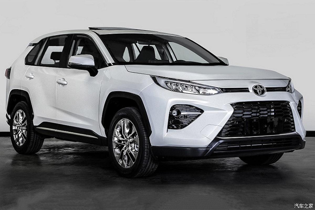 Toyota Wildlander 2020 - doi thu moi cua Honda CR-V lo dien