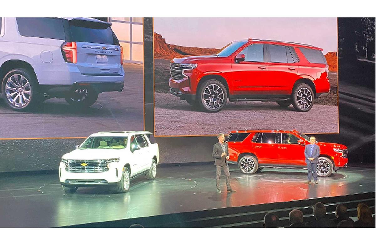 Chevrolet gioi thieu Suburban va Tahoe 2021 the he moi