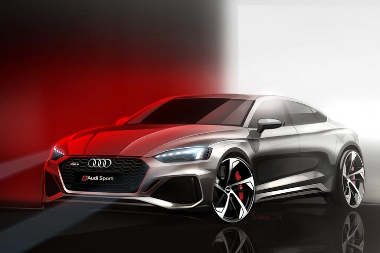 Chi tiet sedan the thao Audi RS5 2020 dam chat cong nghe-Hinh-2