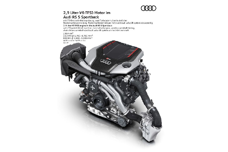 Chi tiet sedan the thao Audi RS5 2020 dam chat cong nghe-Hinh-3