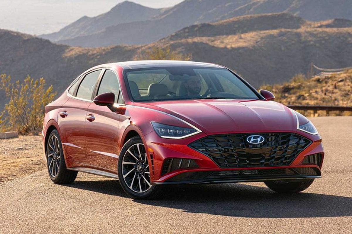 """Hyundai bat ngo khuyen mai """"khung"""" cho Sonata 2020 tai My"""
