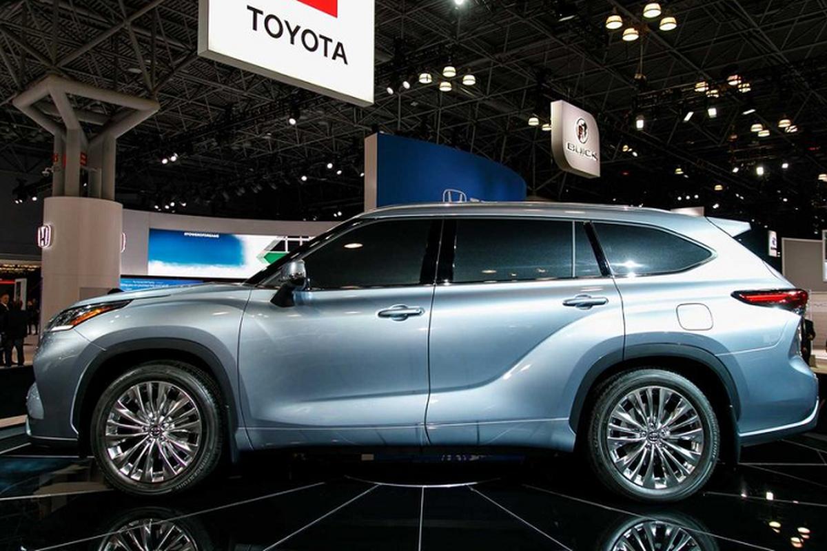 Ra mat Toyota Highlander 2020 moi tu 800 trieu dong-Hinh-3