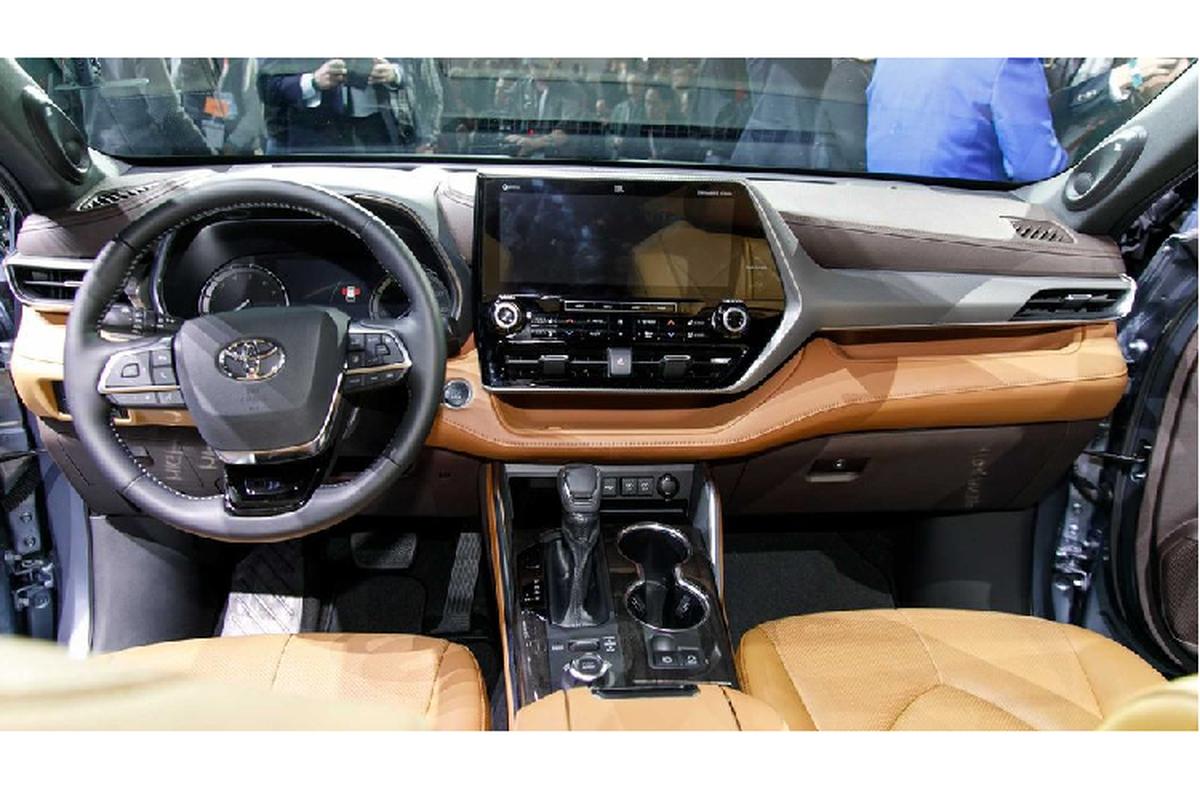 Ra mat Toyota Highlander 2020 moi tu 800 trieu dong-Hinh-5