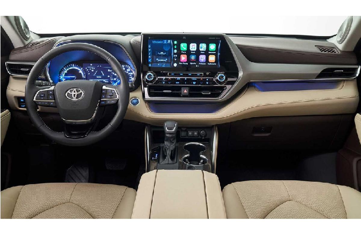 Ra mat Toyota Highlander 2020 moi tu 800 trieu dong-Hinh-6