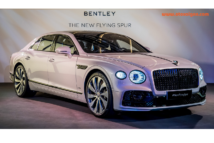Sedan hang sang Bentley Flying Spur 2020 lan banh den Chau A