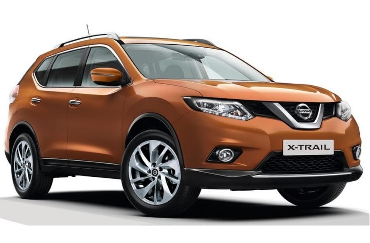 Nissan X-Trail se som ra mat the he moi trong nam 2021