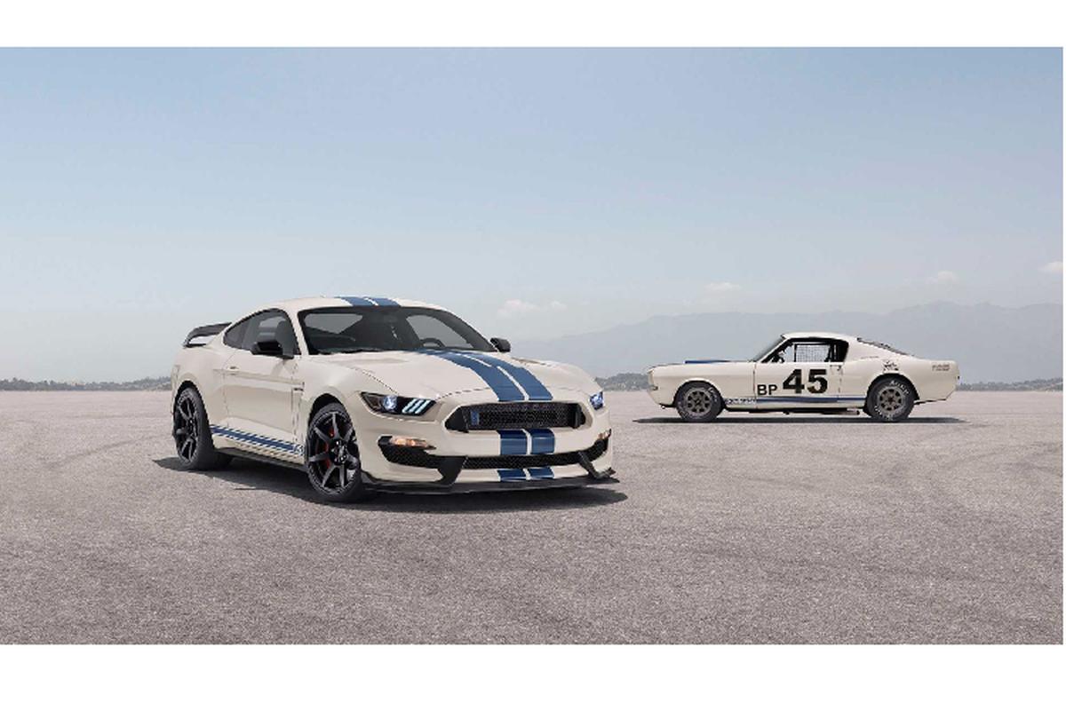 Ra mat Ford Mustang Shelby GT350 va GT350R ban dac biet-Hinh-2