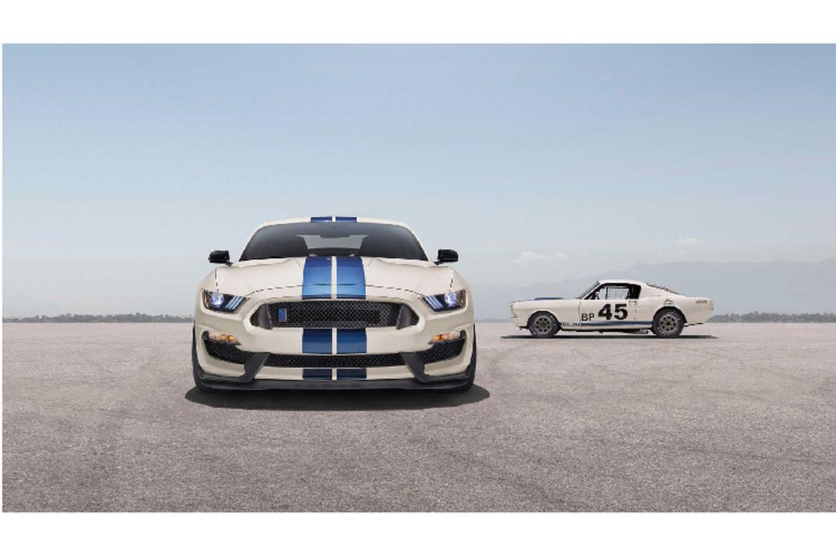Ra mat Ford Mustang Shelby GT350 va GT350R ban dac biet-Hinh-3