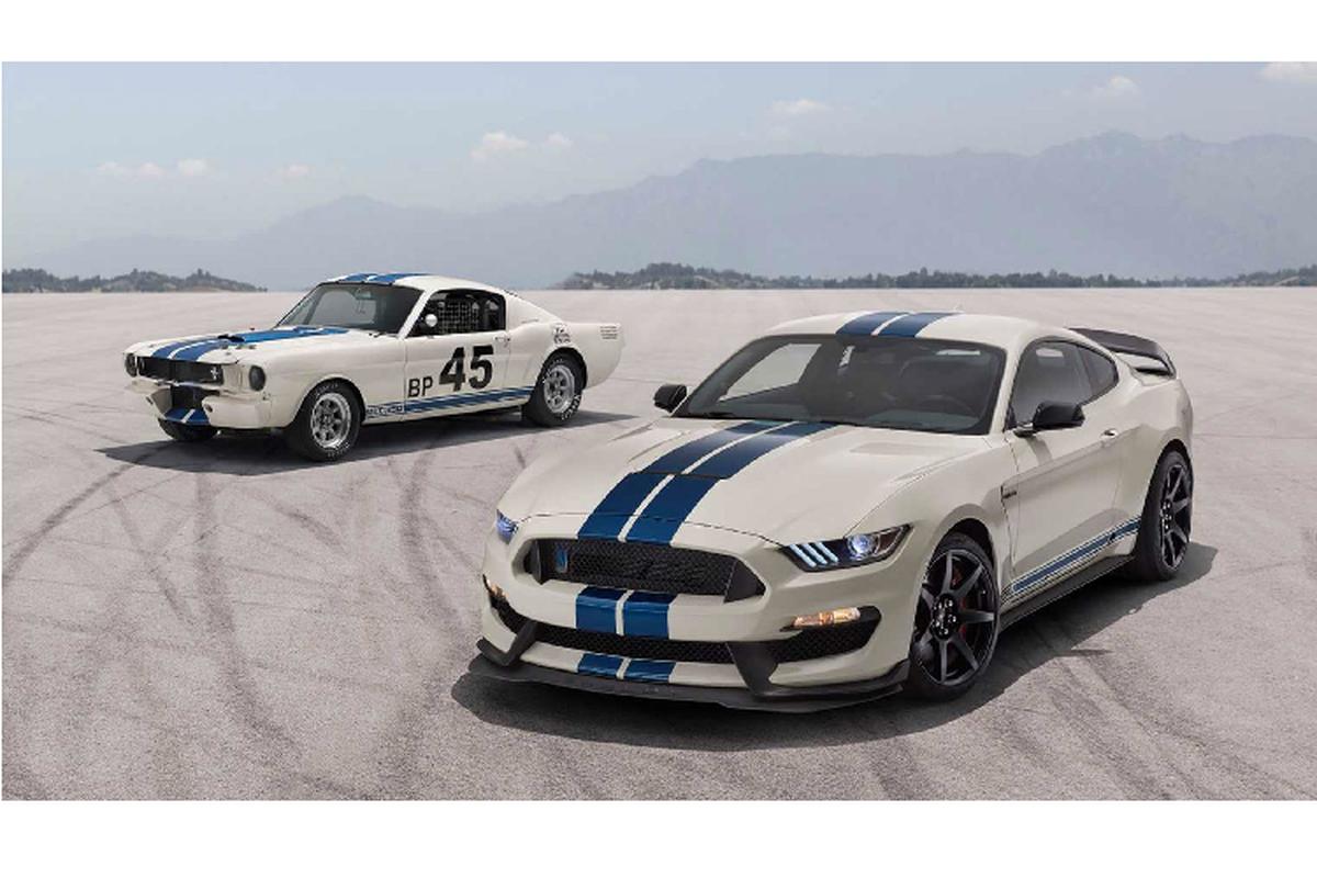 Ra mat Ford Mustang Shelby GT350 va GT350R ban dac biet
