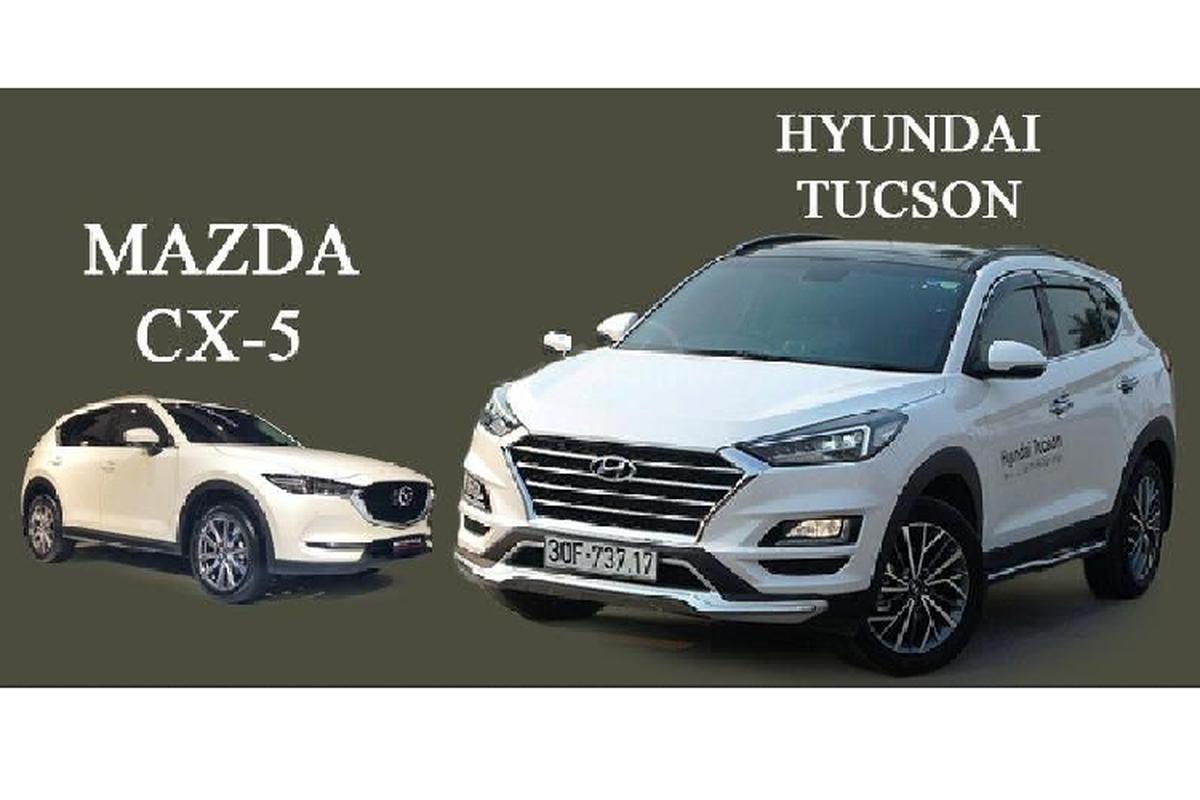 Hyundai Tucson 2020 co gi ha be Mazda CX-5 tai Viet Nam
