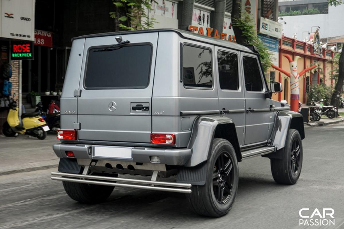 """""""Khung long"""" Mercedes G500 4×4² cua dai gia Campuchia o Sai Gon-Hinh-11"""