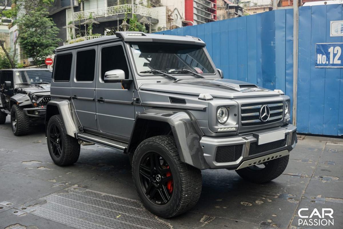 """""""Khung long"""" Mercedes G500 4×4² cua dai gia Campuchia o Sai Gon-Hinh-3"""