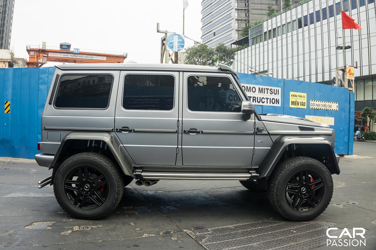 """""""Khung long"""" Mercedes G500 4×4² cua dai gia Campuchia o Sai Gon-Hinh-5"""