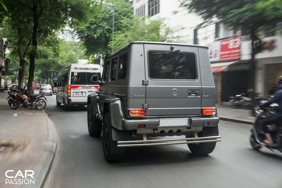 """""""Khung long"""" Mercedes G500 4×4² cua dai gia Campuchia o Sai Gon-Hinh-6"""