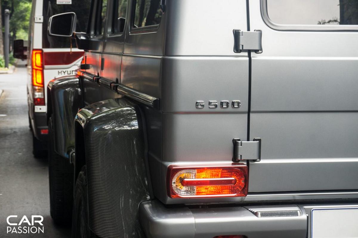 """""""Khung long"""" Mercedes G500 4×4² cua dai gia Campuchia o Sai Gon-Hinh-9"""
