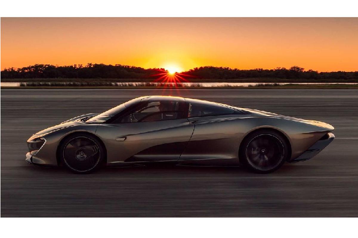 Sieu xe McLaren Speedtail hon 51 ty dong dat ky luc 403 km/h