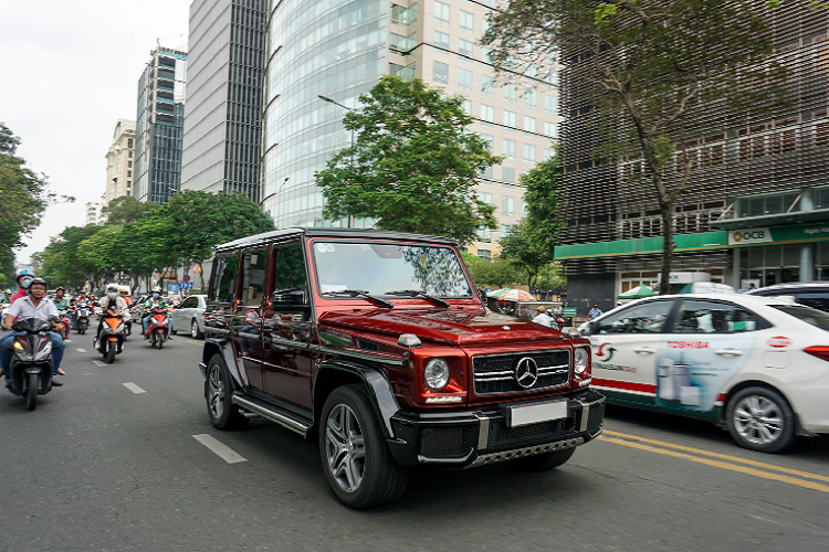 Mercedes-AMG G63 Crazy Color Edition doc nhat Viet Nam-Hinh-3