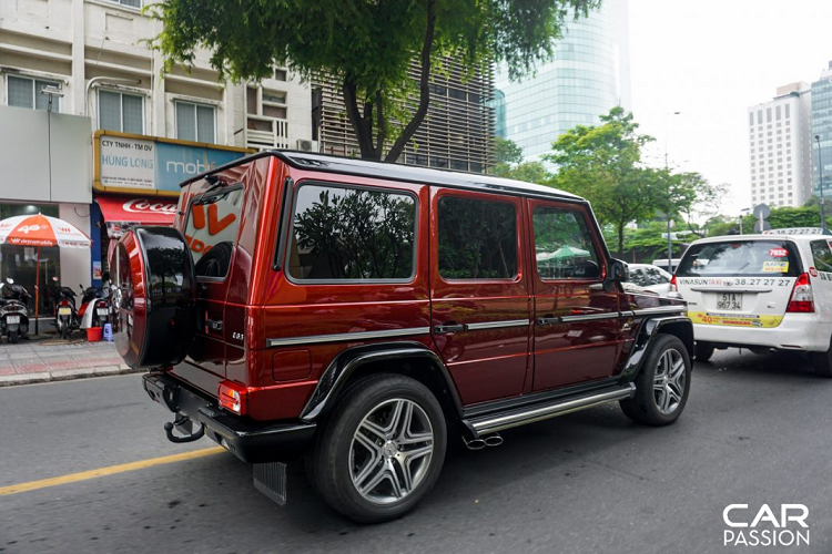 Mercedes-AMG G63 Crazy Color Edition doc nhat Viet Nam-Hinh-5