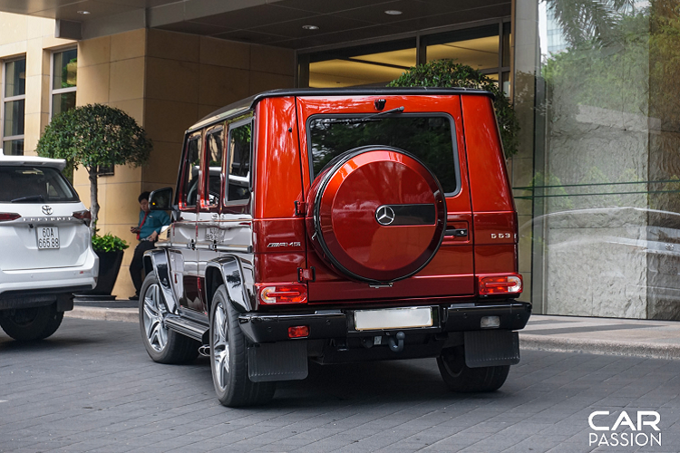 Mercedes-AMG G63 Crazy Color Edition doc nhat Viet Nam-Hinh-6