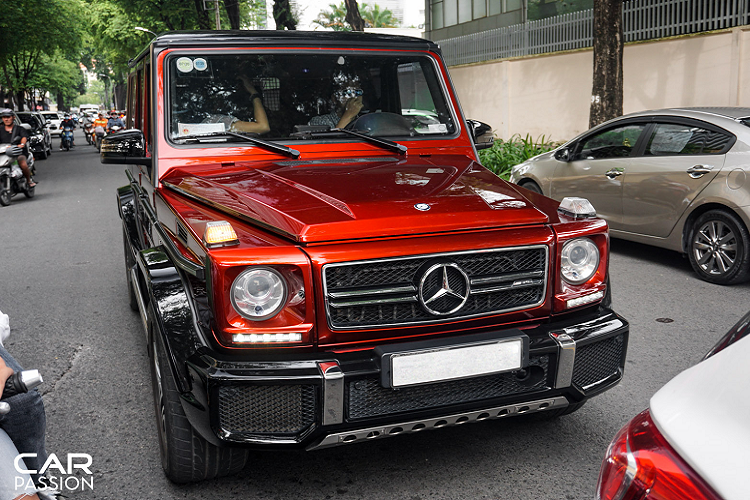 Mercedes-AMG G63 Crazy Color Edition doc nhat Viet Nam-Hinh-7