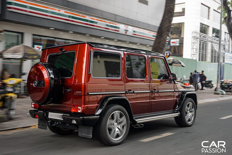 Mercedes-AMG G63 Crazy Color Edition doc nhat Viet Nam-Hinh-9