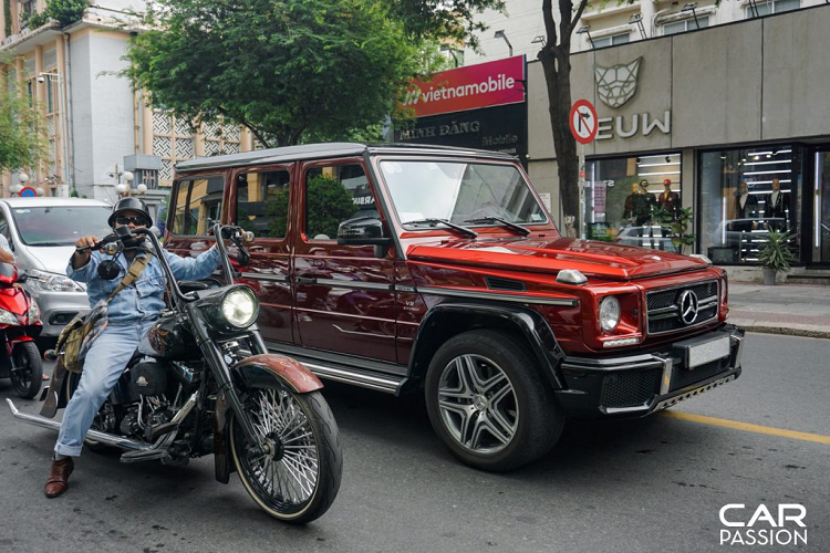 Mercedes-AMG G63 Crazy Color Edition doc nhat Viet Nam