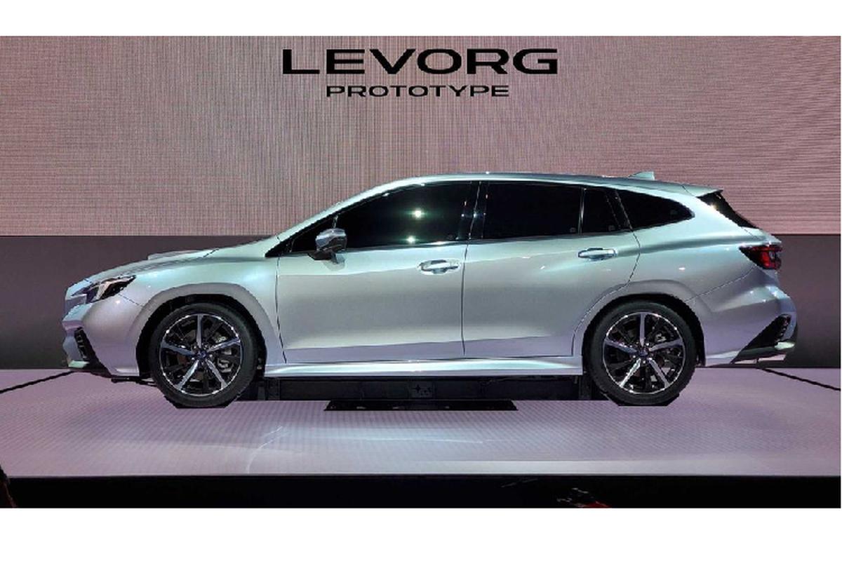 """Subaru """"nha hang"""" xe the thao Levorg STI Sport 2020 moi-Hinh-4"""