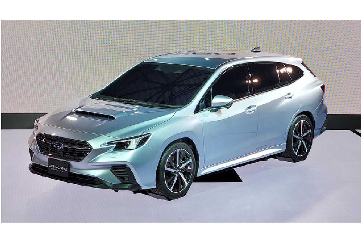 """Subaru """"nha hang"""" xe the thao Levorg STI Sport 2020 moi-Hinh-5"""