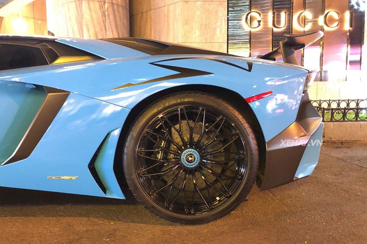 Sieu xe Lamborghini Aventador SV hon 30 ty lan banh tai Sai Gon-Hinh-4