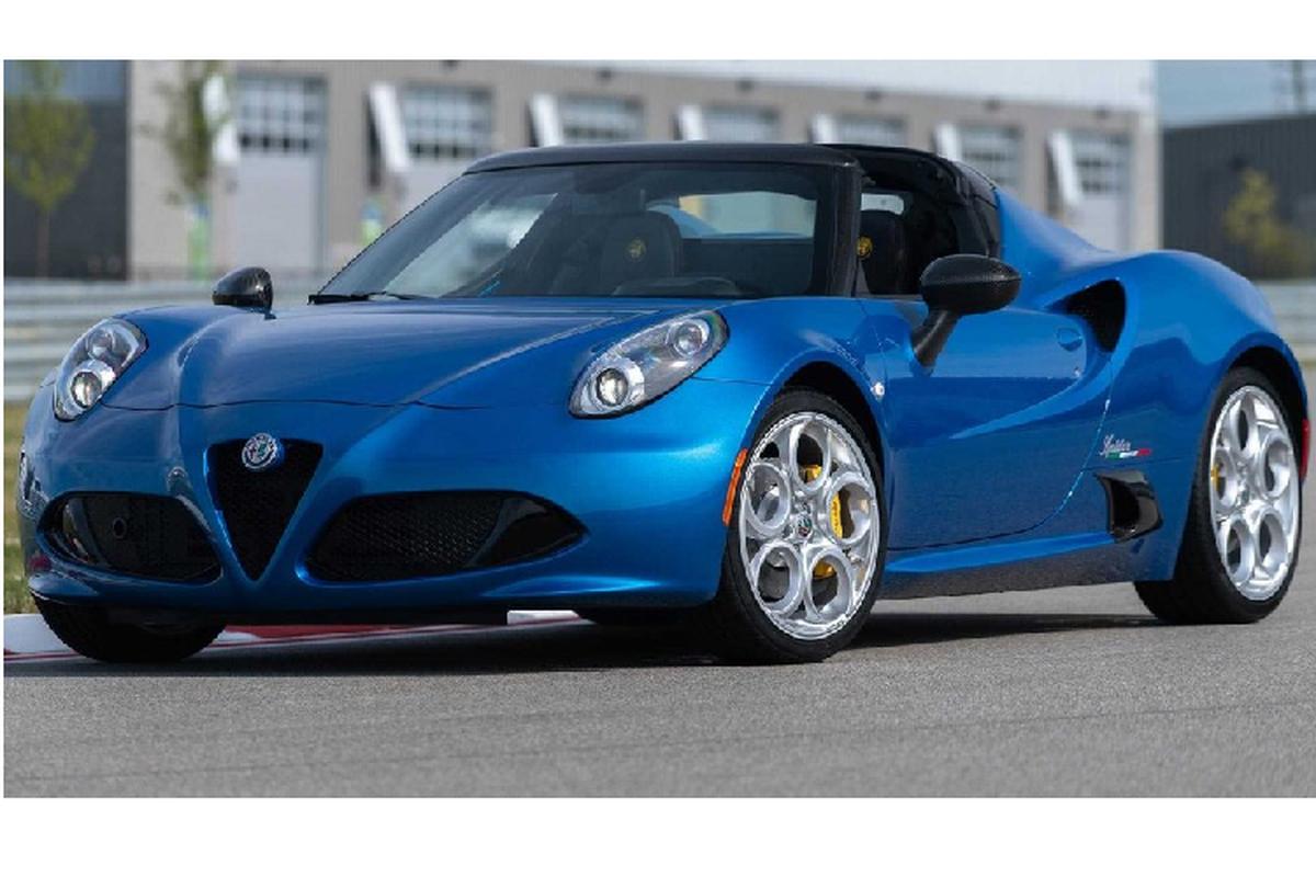 Alfa Romeo 4C Spider 2020 tai xuat voi phien ban dac biet