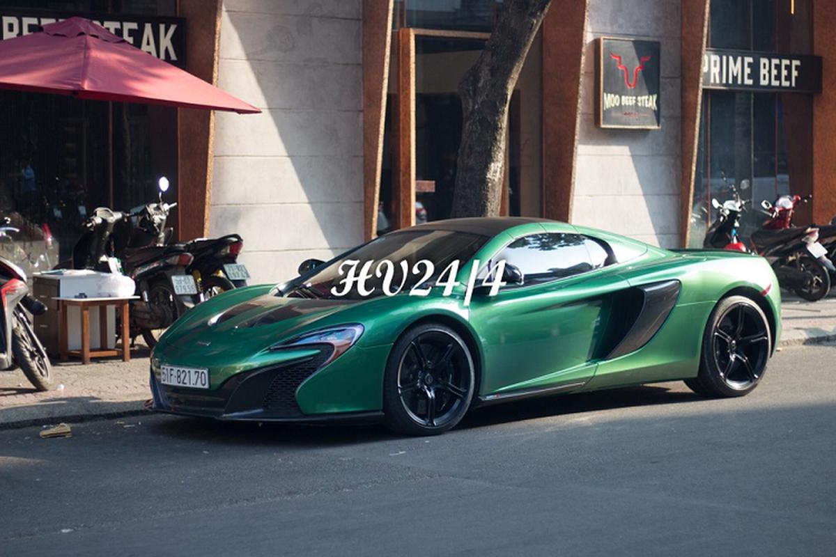 """Chong Diep Lam Anh khoac ao """"tac ke"""" cho sieu xe McLaren 650S-Hinh-6"""