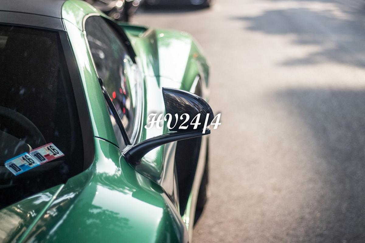 """Chong Diep Lam Anh khoac ao """"tac ke"""" cho sieu xe McLaren 650S-Hinh-9"""