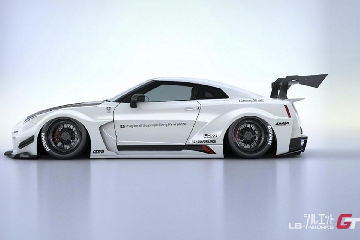 Goi do Liberty Walk cua Nissan GT-R len toi 1,7 ty dong-Hinh-2