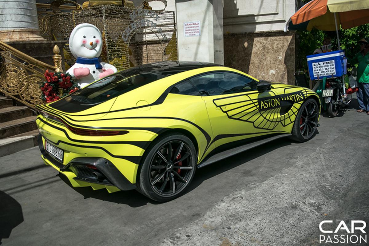 Sieu xe Aston Martin cua dai gia Sai Gon