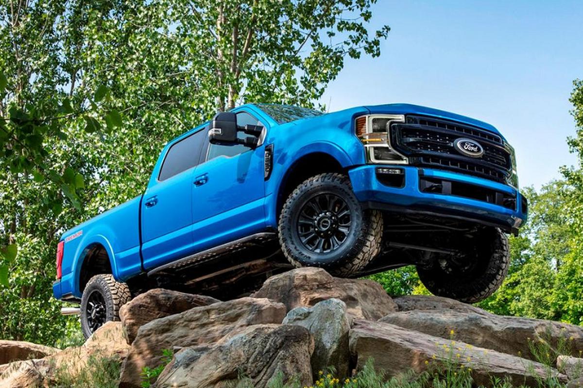 Ford up mo ap dung cong nghe sieu xe cho F-Series