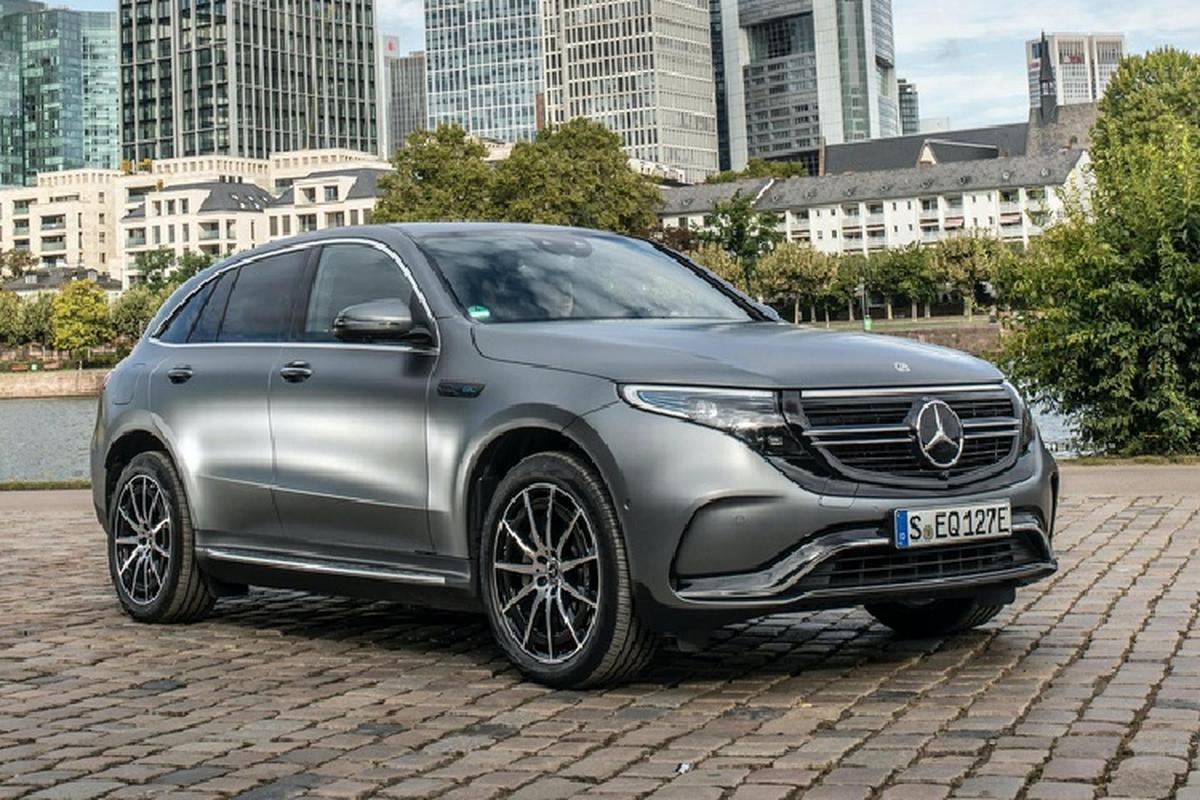Tai sao xe dien hang sang Mercedes-Benz van