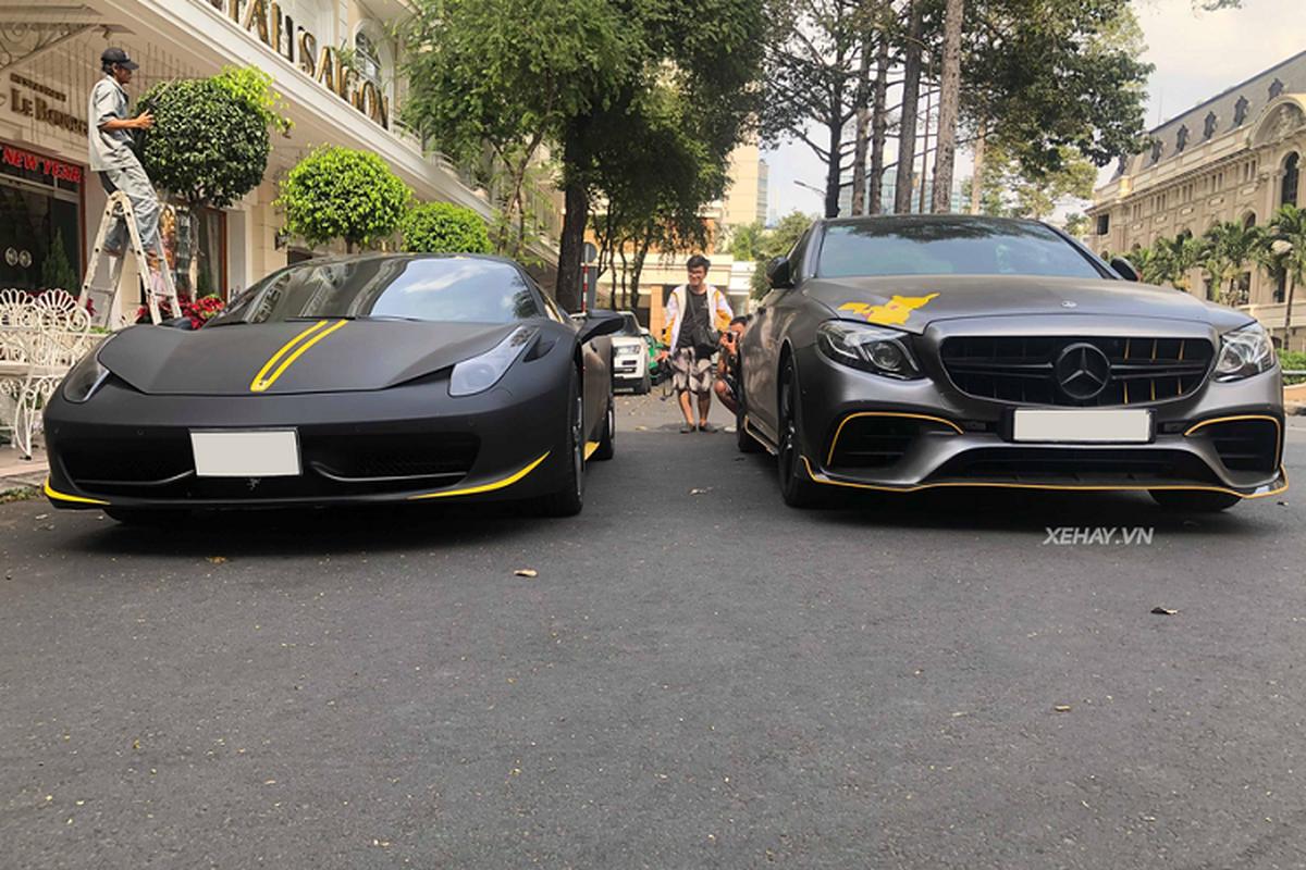 Cham mat sieu xe Ferrari 458 Spider hon 15 ty o Sai Gon-Hinh-2