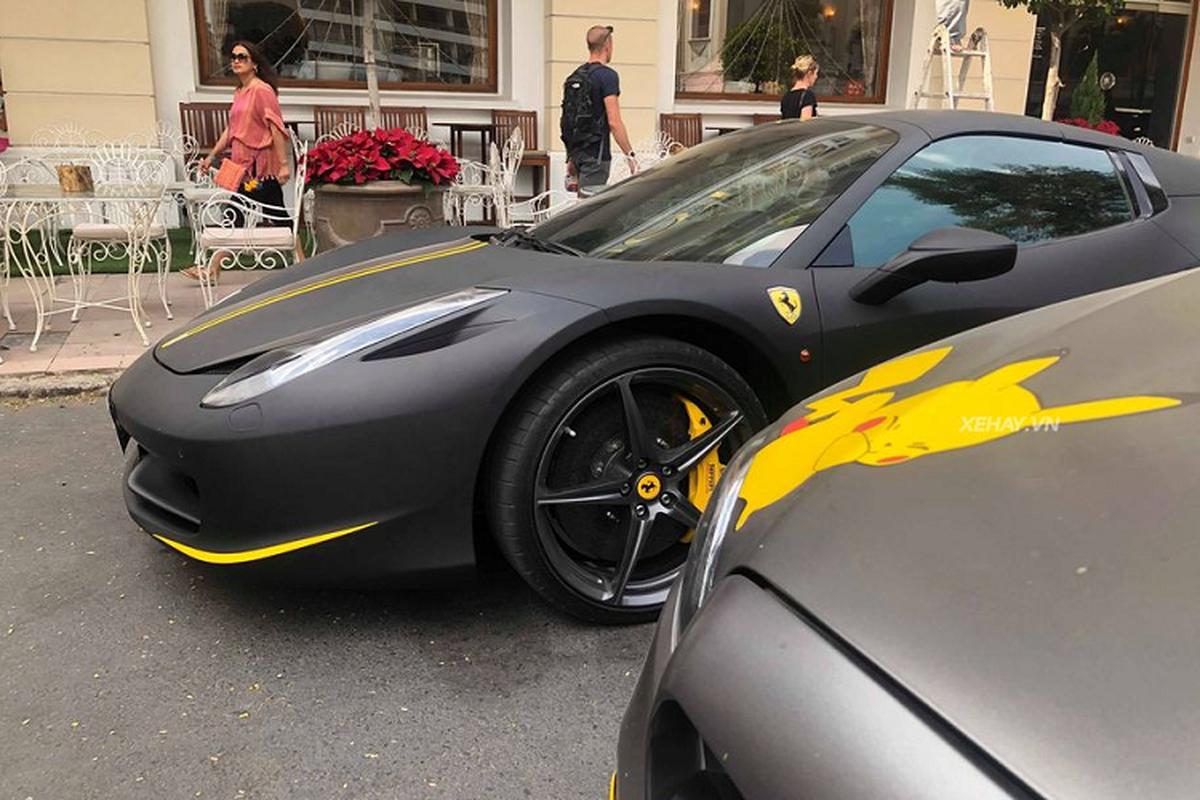 Cham mat sieu xe Ferrari 458 Spider hon 15 ty o Sai Gon-Hinh-3