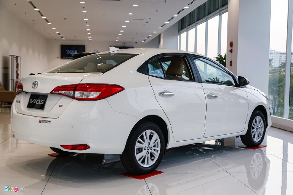 Toyota Vios 2020 - thiet ke cu, them tinh nang, giu gia ban-Hinh-12