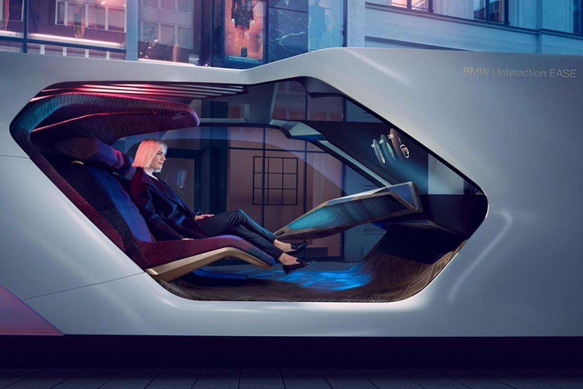 """BMW i Interaction EASE concept phong cach """"phong VIP di dong""""-Hinh-2"""