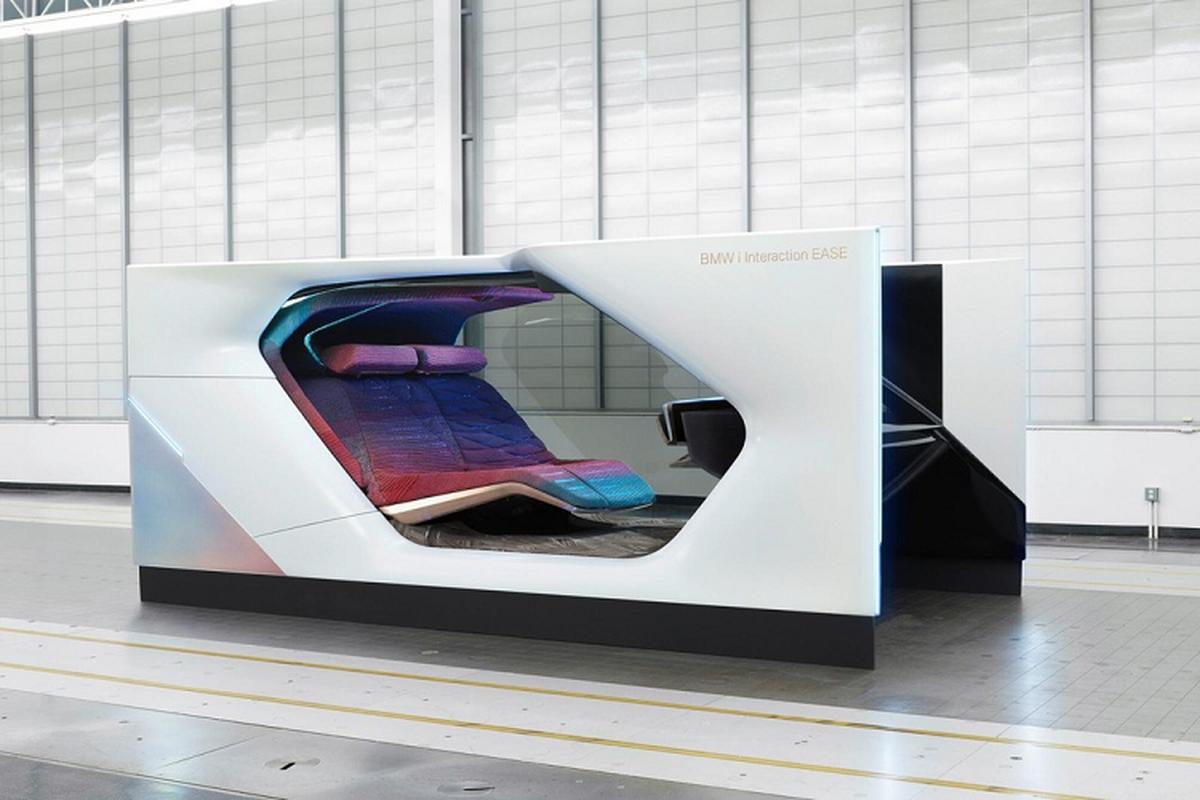 """BMW i Interaction EASE concept phong cach """"phong VIP di dong"""""""